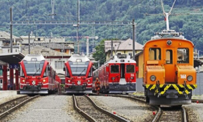 La Svizzera sospende i treni con l'Italia