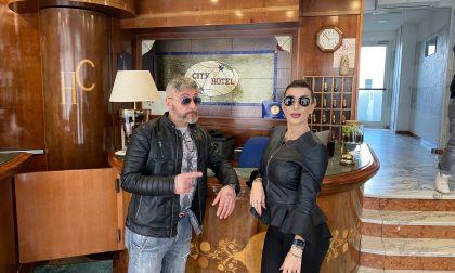 L'hotel City di Chivasso diventa un set cinematografico per un giorno LE FOTO