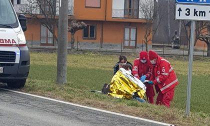 Scontro tra due auto in Collina, una donna in ospedale LE FOTO