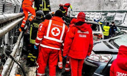 Maxi tamponamento sull'A32 Torino-Bardonecchia: due morti LE FOTO