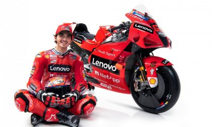 Pecco Bagnaia presenta la sua Ducati «La Rossa #63»