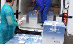Poste Italiane consegna il vaccino AstraZeneca LE FOTO