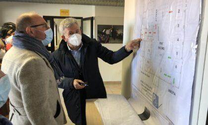 PalaLancia diventa centro vaccinale, sarà  operativo dai primi di aprile