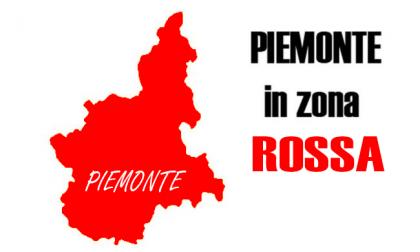 Da lunedì il Piemonte sarà in Zona Rossa