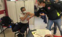 Vaccino day per i volontari della Protezione civile LE FOTO
