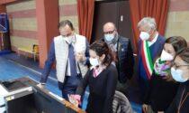 Il presidente Cirio nei centri vaccinali di Chivasso e Crescentino LE FOTO