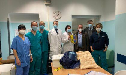 Rotary dona apparecchiature per la cura dei pazienti Covid19