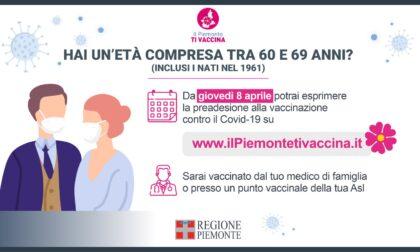 Vaccini over60, da giovedì 8 aprile la preadesione
