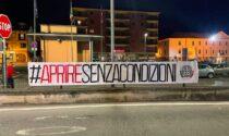 CasaPound protesta a Chivasso per chiusure e coprifuoco
