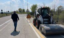 Cantieri stradali tra Crescentino e Saluggia LE FOTO