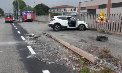 Terribile incidente sulla provinciale, coinvolti tre mezzi LE FOTO