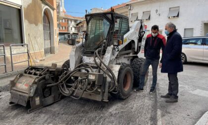 Ripresi i cantieri sospesi nel Vercellese