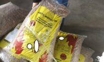 Sequestrate 25 tonnellate di pellet contraffatto