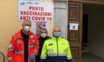 I volontari di Caluso, Verolengo e Cigliano al servizio degli hot spot vaccinali LE FOTO