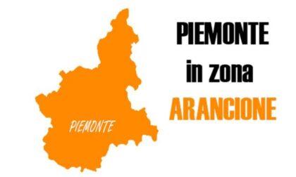 Da lunedì anche la provincia di Torino è arancione