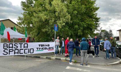 Sit in contro lo spaccio in Borgo Vittoria