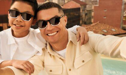 Italia Independent, Cristiano Ronaldo firma la linea Junior