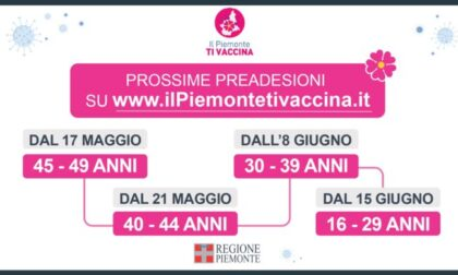 Vaccini Covid, domani le pre-adesioni per  ci ha tra 40 ed i 44 anni.