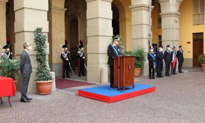Carabinieri celebrano il 207esimo anniversario di fondazione