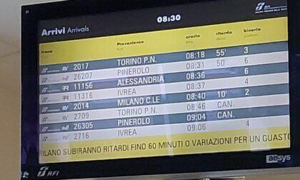 Ferrovia, guasto tecnico sulla linea Torino-Milano: molti i treni cancellati