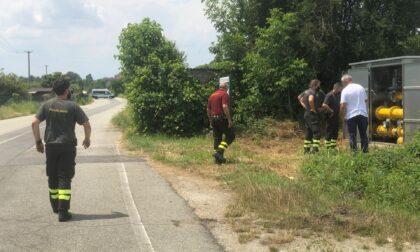 Fuga di gas a Chivasso, verifiche in corso LE FOTO