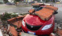Tromba d'aria su Crescentino e Chivassese nel tardo pomeriggio di ieri, mercoledì 7 luglio 2021. La Regione Piemonte e Alberto Cirio hanno avviate le procedure per lo stato di calamità.