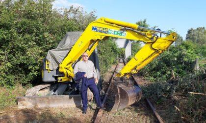 """Tratto Chivasso-Brozolo, Gavazza (Lega Salvini Piemonte): """"I lavori di ripulitura e bonifica del sedime ferroviario sono arrivati a Chivasso"""""""