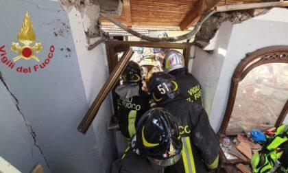Esplosione in una palazzina, morto il bimbo di 4 anni LE FOTO