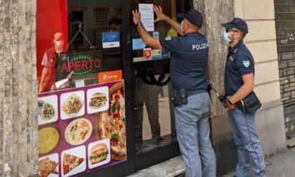 Locale viola la normativa Covid, chiuso per cinque giorni