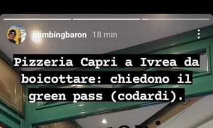 Pizzeria chiede il Green Pass, gestori insultati sui social