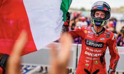 MotoGp, Pecco Bagnaia vince la gara di Misano  IL VIDEO