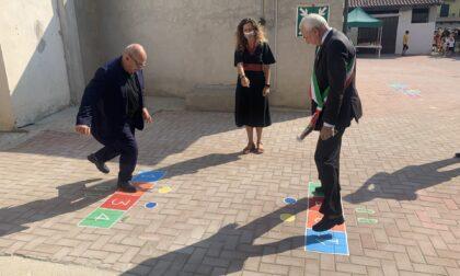 Nuovi giochi a scuola, li provano sindaco e consigliere regionale IL VIDEO