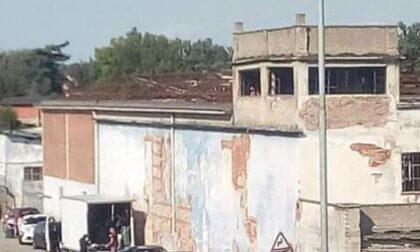 Set cinematografico all'ex fabbrica di Verolengo