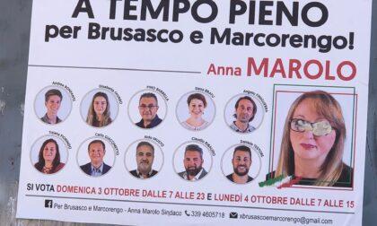 Imbrattato il manifesto elettorale della candidata Marolo
