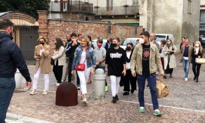 Festa dei Nocciolini, Pecco Bagnaia e Simona Ventura premiati a Chivasso I VIDEO