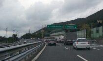 Autostrada A10, pedaggio gratuito causa lavori