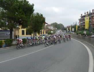 Passaggio della corsa ciclistica 102^ Milano - Torino, le strade chiuse